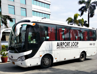 Airport Loop bus